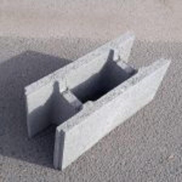 SEZONA 250 pamatu (500*250*250 ) tukšie pamatu bloki