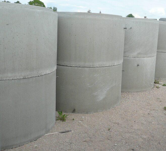5.5 m3 Kanalizācijas akas komplekts KC 20